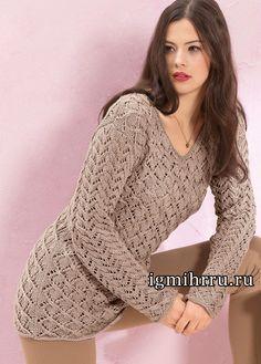 Irina: Pullover. Patterns.