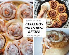 Homemade Cinnamon Rolls Recipe Video Instructions