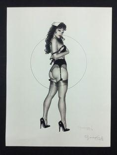 """Casotto, Giovanna - artwork """"La Sexy Cameriera"""" - Catawiki"""