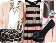 Pink Heart - Evening Outfits - stylefruits.co.uk