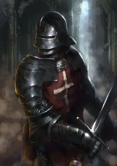 Gothic Knight by Beaver-Skin.deviantart.com on @deviantART