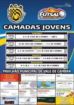 ACR: Futsal [formação] > 15 e 16 Fev 2014 #ValeDeCambra #futsal