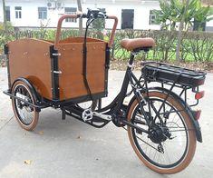 Znalezione obrazy dla zapytania electric cargo bike
