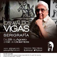Crisolarte: Oswaldo Vigas-Serigrafías: Creo y luego existo