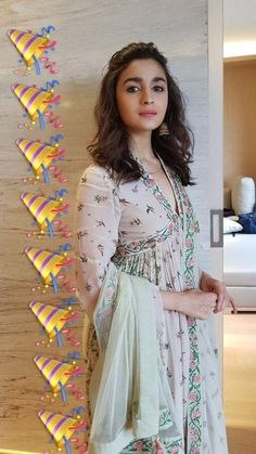See more about Alia Bhatt Age, Bio, Affairs & More WhatsApp us for Purchase & Inquiry : Buy Best Designer Collection from padukon Indian Suits, Indian Attire, Indian Dresses, Indian Wear, Indian Style, Indian Clothes, Punjabi Suits, Alia Bhatt Cute, Desi Wear