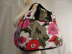 Bowling Bag in Lovin' Pinks Floral Fabric with by BeauSourire, $48.50