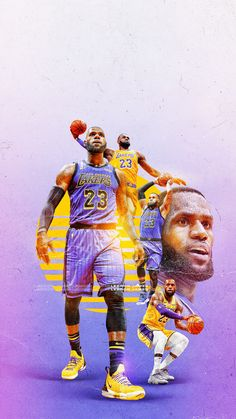 King Lebron James, Lebron James Lakers, King James, Nike Lebron, James 10, Lebron James Wallpapers, Sports Wallpapers, Basketball Art, Basketball Players