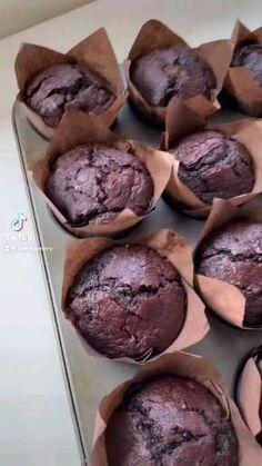 Fun Baking Recipes, Cupcake Recipes, Sweet Recipes, Snack Recipes, Cooking Recipes, Delicious Desserts, Yummy Food, Food Cravings, Chocolate Recipes