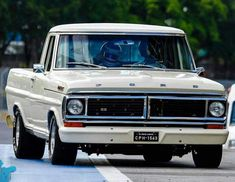 ford classic cars by lloyd Vintage Pickup Trucks, Classic Pickup Trucks, Ford Classic Cars, Vintage Cars, 79 Ford Truck, Lifted Ford Trucks, Chevy Trucks, Lifted Chevy, Ford V8