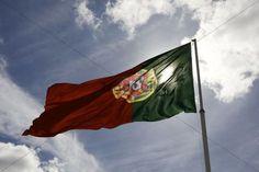 Portuguese flag Portugal Europe