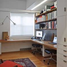 Luxury Home Office Design Ideas. Hence, the requirement for house offices.Whether you are intending on adding a home office or refurbishing an old area into one, here are some brilliant home office design ideas to help you get started. Mesa Home Office, Home Office Space, Home Office Desks, Home Office Furniture, Small Office, Desk Space, Furniture Plans, Kids Furniture, White Office