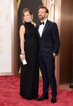 Olivia Wilde & Jason Sudeikis!/プレママ、オリビア・ワイルド&ジェイソン・サダイキス、そろってレッドカーペットに!  #Oscars #RedCarpet!