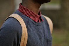 sweater with backpack straps Pioneer Clothing, Crisp White Shirt, Backpack Straps, Lady And Gentlemen, Dress To Impress, We Heart It, Gentleman, Yves Saint Laurent, How To Look Better