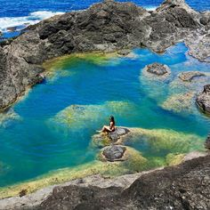 Mermaid Pools, Matapouri Bay, Northland - New Zealand Road Trip New Zealand, New Zealand Travel, Mermaid Pool, Adventure Is Out There, Beach Trip, Beautiful Beaches, Places To Visit, The Incredibles, Australia