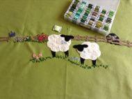 Things that made me happy! My Generation, Wool Blanket, Embroidery Applique, Make Me Happy, Sheep, Fleece Knot Blanket