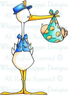 The Stork Report - Baby Images - Baby - Rubber Stamps - Shop