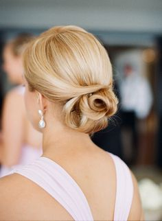 Elegant Wedding Up-Do | Wedding Hair Inspiration