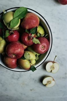 fall fruit recipes and a simple apple galette, by yossy | apt2bbakingco, via Flickr