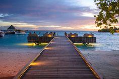 Four Seasons Resort, Maldives  www.theroadlestraveled.com
