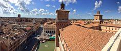 Una città dalle mille emozioni.....anche dall'alto....Ferrara