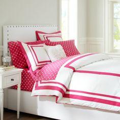 Pink PBteen bedding
