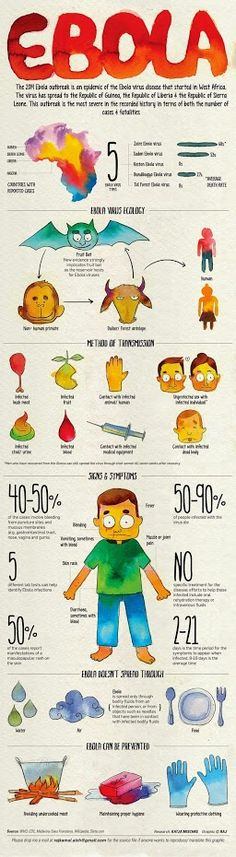 Infographic All About The #Ebola Virus YOUR HEALTH - Community - Google+