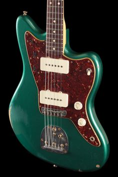 Fender Custom Shop 1962 Jazzmaster Sherwood Green Metallic