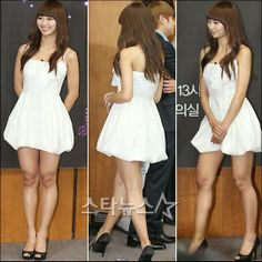 (SISTAR) Hyo Lyn looks so healthy !! she has managed to stay sooooo slim and slender