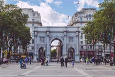 Marble Arch, London.