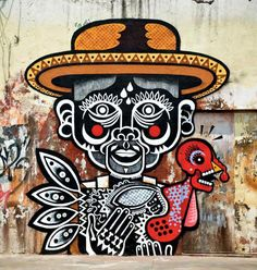 Nuezz | Mexico City #ClippedOnIssuu from World atlas of street art and graffiti, the schacter, rafael
