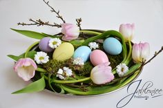 Wielkanoc, wiosna, spring, easter, decor, easter eggs