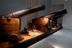 Canons anglais du XVIIIe siècle (© Laurent Uroz, service Communication Ville d'Agde)