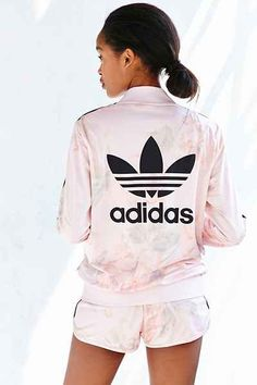adidas Originals Pastel Rose Track Jacket - Urban Outfitters