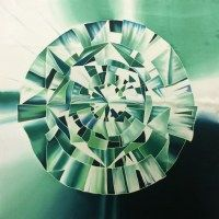 Галерея Fresh look : Платок Алмаз грин С-60