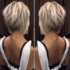 12 Amazing Blunt Bob Hairstyles You'd Love to Try This Year! 12 Amazing Blunt Bob Hairstyles You'd Love to Try This Year! Blunt Bob Hairstyles, Popular Short Hairstyles, Thin Hairstyles, Choppy Bob Haircuts, Blonde Short Hairstyles, Stylish Hairstyles, Images Of Short Hairstyles, Good Haircuts, Hairdos