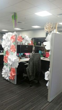 Decorating Office Cubicle more coworkers birthday decorations | office birthday decorations