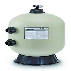 Pentair 140212 Triton II Side Mount Fiberglass Sand Pool Filter with ClearPro Technology , Square Feet, 63 GPM (Residential), without Valve or Unions Pool Filter Sand, Pool Sand, Swimming Pool Filters, Swimming Pools, Portable Spa, Internal Design, Fiberglass Pools, Pool Equipment, Pool Supplies
