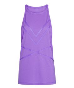 Look at this #zulilyfind! Dewberry Danielle Excel Mesh Tank #zulilyfinds