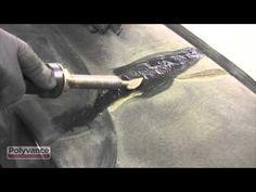Cracked Dashboard Repair - Padded Dashboard - YouTube