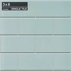 """Daltile 014836MOD1P4 Spa Rittenhouse Square Spa 6"""" x 3"""" Ceramic Multi-Surface Tile - Floormall.com"""