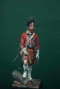 American Revolutionary War, American War, British Army Uniform, Military Figures, Figure Model, Toy Soldiers, Military History, Vignettes, North America