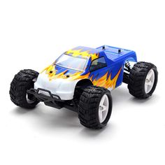YiKong 1/18th Scale 4WD Brushed Electric Monster Truck TROO-E18MT-V2 RC Car