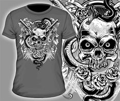 T-shirt Graphic Design 412