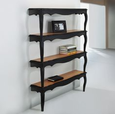 Turn coffee table into nifty shelving unit