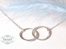 infinity love - 925/SS versilberte Kette | by Tifany-Jewelry