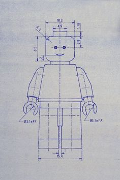 LEGO blueprint