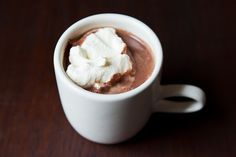 Perfect Hot Chocolate - The Best Holiday Cocoa Recipes, From Basic To Boozy Chocolate Week, Best Hot Chocolate Recipes, Cocoa Recipes, Chocolate Food, Chocolate Smoothies, Chocolate Shakeology, Chocolate Drizzle, Chocolate Shavings, Delicious Chocolate