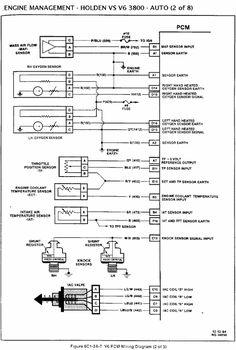 Pin by John Kraws on VS V6 PCM ECM Diagram, Ecu, Wire