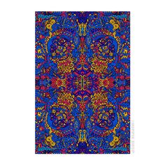 Psychedelic Liquid - 3D Tapestry
