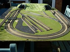 Planning the Perfect Model Railway Layouts - Model Train Hub N Scale Train Layout, Ho Train Layouts, N Scale Layouts, Ho Train Track, Ho Train Sets, Lionel Trains Layout, Model Railway Track Plans, N Scale Model Trains, Garden Railroad